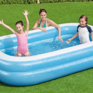 Opblaasbaar zwembad 262x175x51 cm