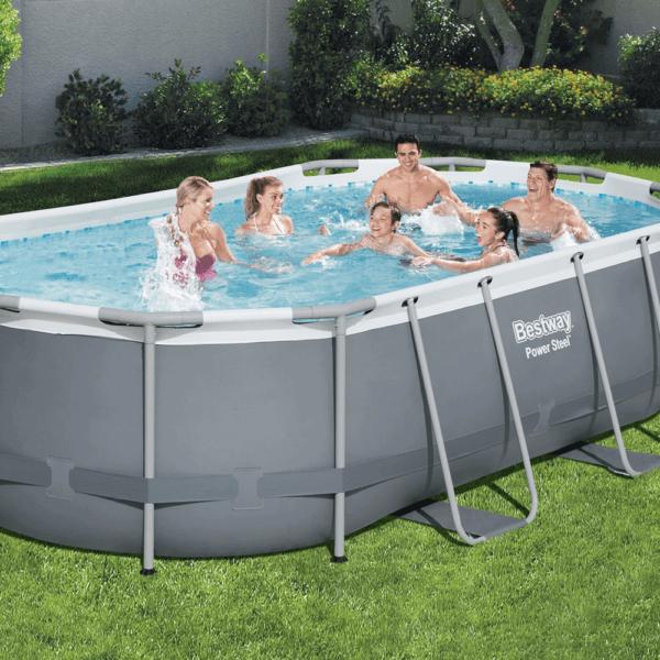 Power Steel zwembad 427x250x100 cm